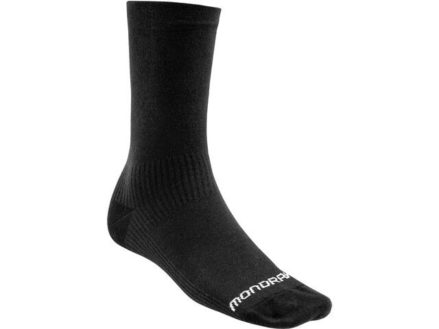Mondraker Racing Chaussettes hautes Homme, black/white